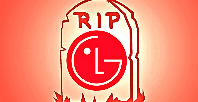 lg smartphone business shutdown