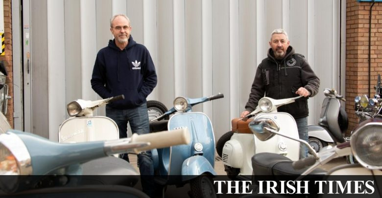 How an Irish mechanic transformed a classic Italian scooter