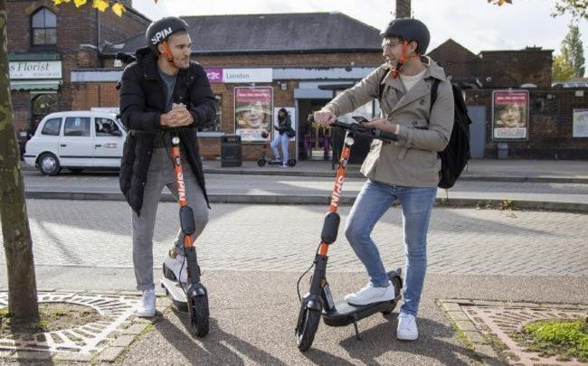 E-Scooter: Spin encourages people to report anti-social behavior