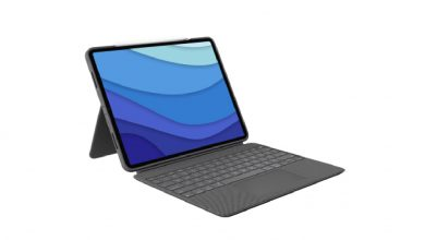 Logitech Combo Touch gives your new iPad Pro a Surface Pro form