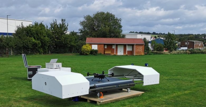 The CIRC Drone-in-a-Box solution lands in Europe