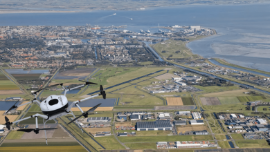 Doosan hydrogen drones fly in the Netherlands