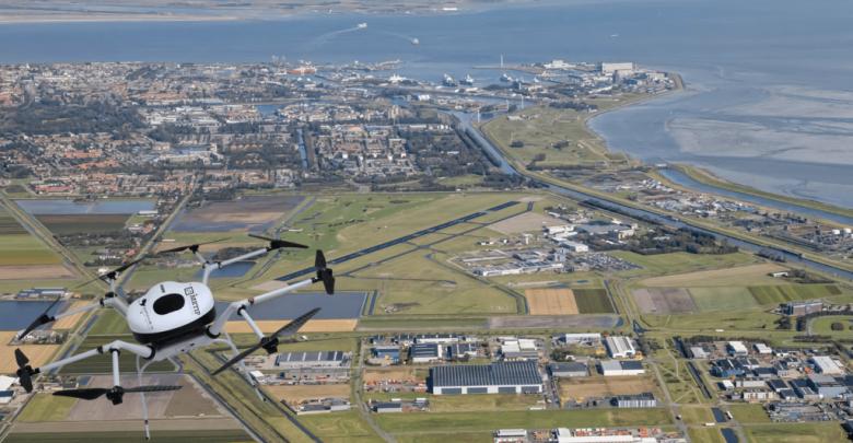 Doosan hydrogen drones fly in the Netherlands