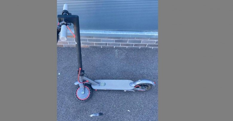 The 40-year-old Portsmouth woman suffered minor injuries when an e-scooter crashed in Hilsea