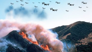 Fire fighting drone swarms Future of fire fighting