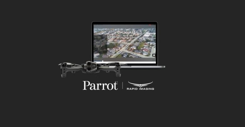 Parrot and Rapid Imaging provide AR for ANAFI drones