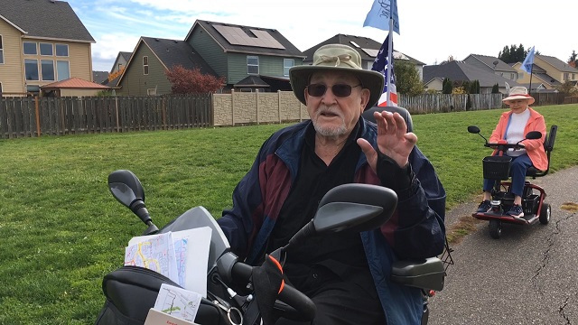 The WWII veterinarian starts a fleet of scooters