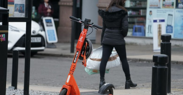 The three-year-old boy was seriously injured while riding an e-scooter
