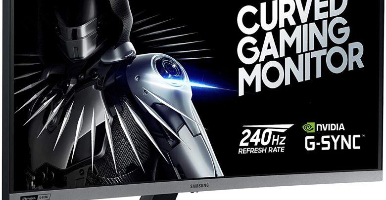 Samsung 27-Inch CRG5 Gaming monitor