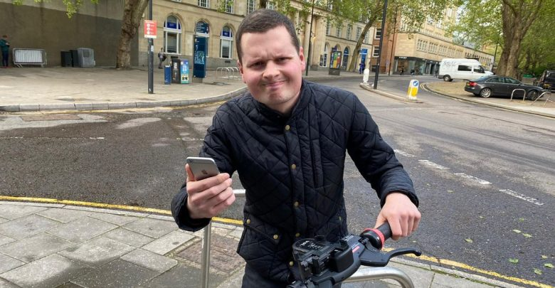 The Voi e-scooter bug is frustrating the people of Bristol - Conor Gogarty