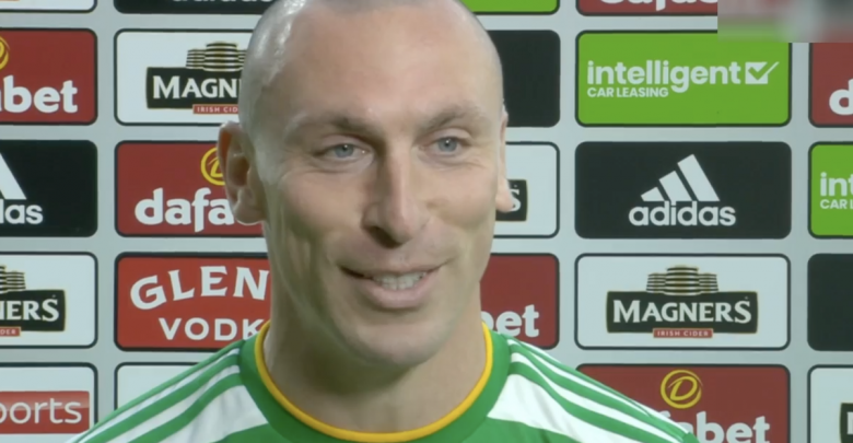 Scott Brown in a hilarious Celtic interview when the unsuspecting skipper calls for Scooter in an x-rated joke