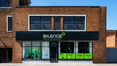 The electric scooter brand's silence opens its flagship store in the UK