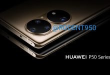 Huawei P50 official render camera