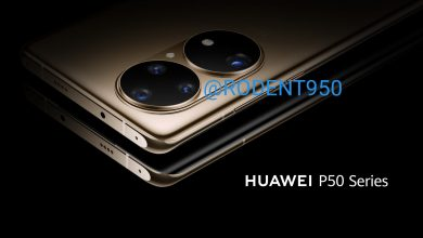 Huawei P50 official render camera