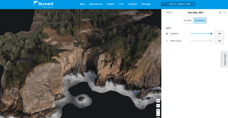Skyward and Pix4D: Integration of management and mapping