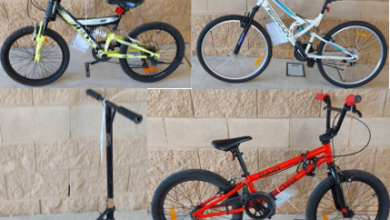 Found bicycles and scooter, Mareeba