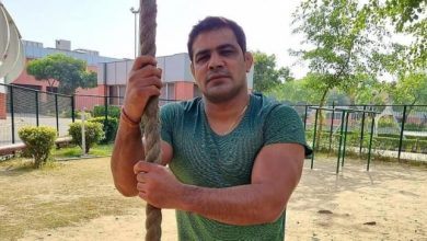 Sushil Kumar and Ajay Kumar were driving scooters when they were arrested in the murder of a wrestler