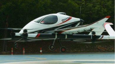 Ehang long-range passenger drone for intercity transport