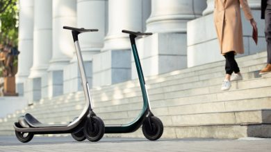 The world's first 3D-printed composite e-scooter