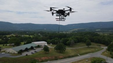 heavy lift tethered drone Quad 8