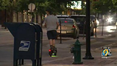 E-scooter crashes in Cedar Rapids
