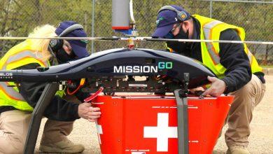 Organ transplant drones MissionGO and AlarisPro