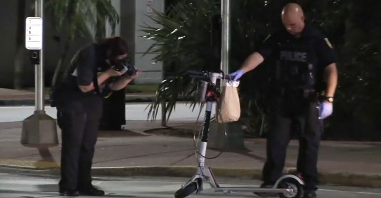 Uber driver arrested at hit-and-run in Miami Beach who hospitalized a scooter driver - NBC 6 South Florida