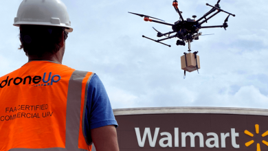 Walmart Drone Delivery investment in DroneUp