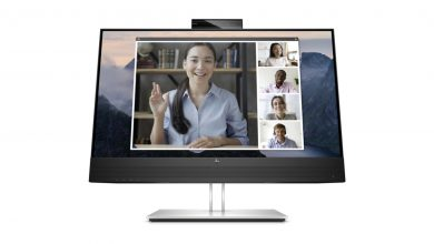 HP E24mv G4 Conferencing Monitor_Front-featured
