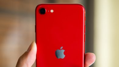 iPhone SE Red color