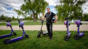Canberra's e-scooter expansion to the suburbs with support from Neuron Mobility and Beam Mobility |  The Canberra times
