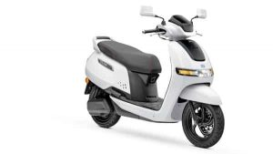 TVS iQube Electric can be booked through the website with a booking amount of  ₹5,000