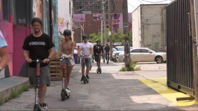 Graffiti Scooter Tour rolls through Windsor