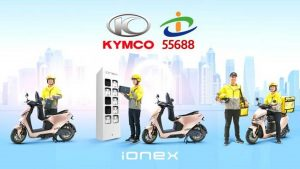 KYMCO converts scooter delivery service from Taiwan Taxi to electric