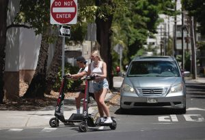 Electric scooter industry charged by the new Hawaii law
