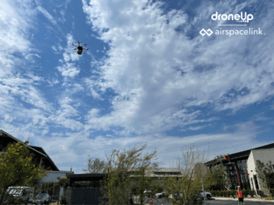 smart city drone delivery DroneUp