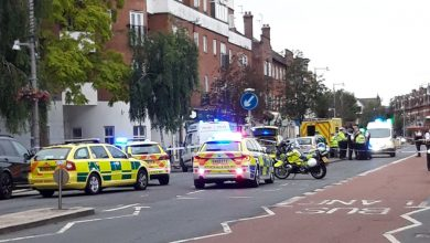 A man is hospitalized in an e-scooter crash in Twickenham