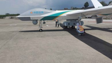 China uses drones to restore communications