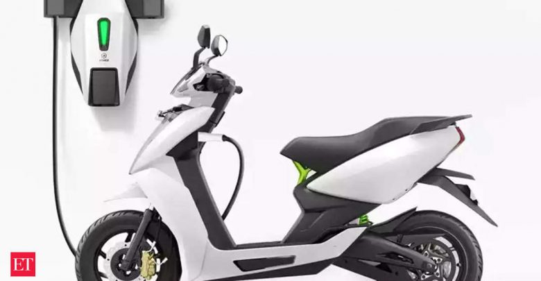 TVS Motor brings electric scooters to Kochi.  on the market