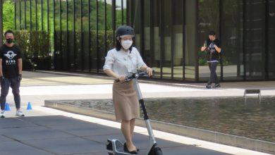 Helmets optional: US e-scooter rental rolls to Japan