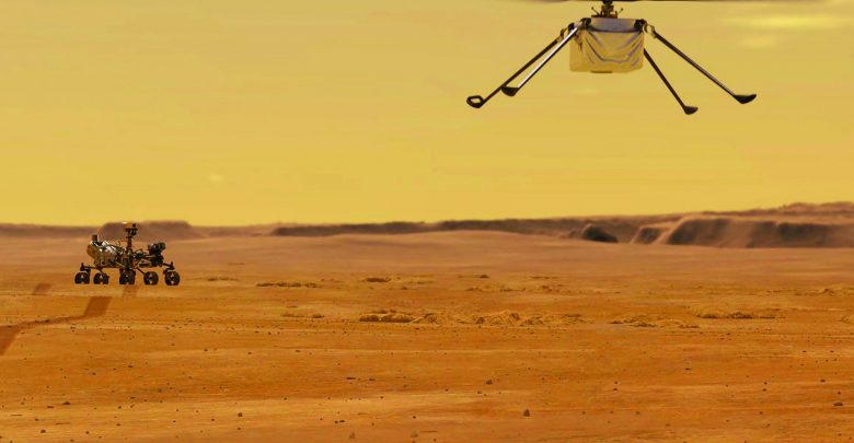 Mission to Mars – NASA's high-tech RC helicopter