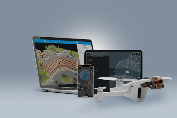 4G LTE connected drone