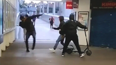 E-scooter theft caught on camera at Luton Railway Station