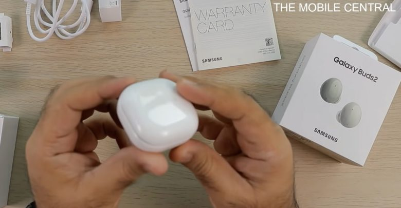 Samsung Galaxy Buds2 gets fully unboxed in new video