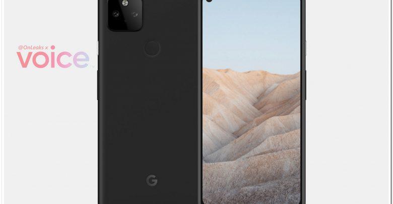 google pixel 5a onleaks voice