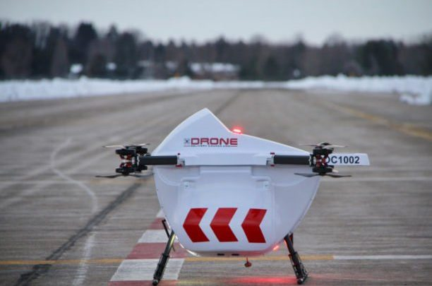 Drone Delivery Canada works together to deliver deliveries to rural communities