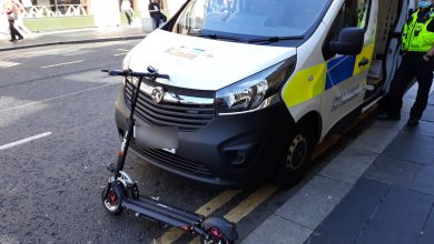 E-scooter bought to deliver take-away food is confiscated in Newcastle
