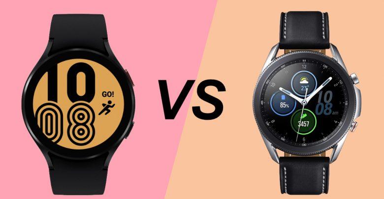 Samsung Galaxy Watch 4 vs Galaxy Watch 3