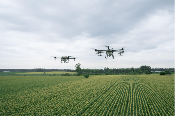 DJI drones for spraying plants now available internationally