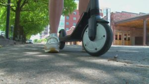 Knoxville discusses turning parking spaces into scooter parking, requiring permit fees